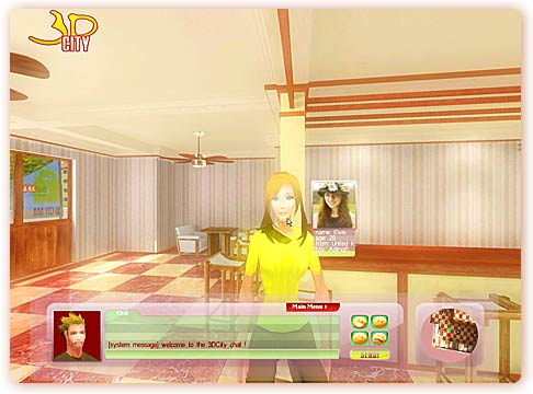 chat software, 3d chat software, chat script, 3d city, 3d chat, 3dcity, 3dchat, 3d community, 3d dating, online 3d chat, 3d chat world, online virtual world, cyber world, second life, imvu