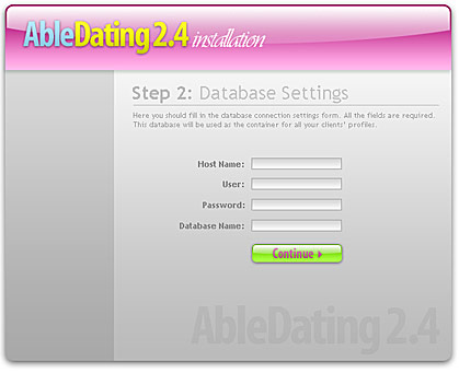 Dating Script Installation